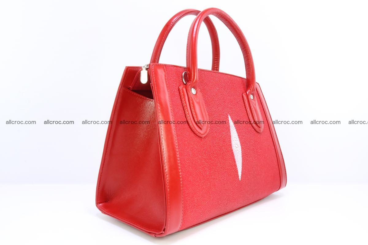 Stingray skin handbag 379 Foto 1