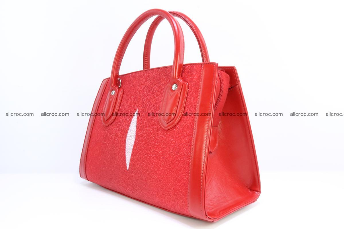 Stingray skin handbag 379 Foto 2