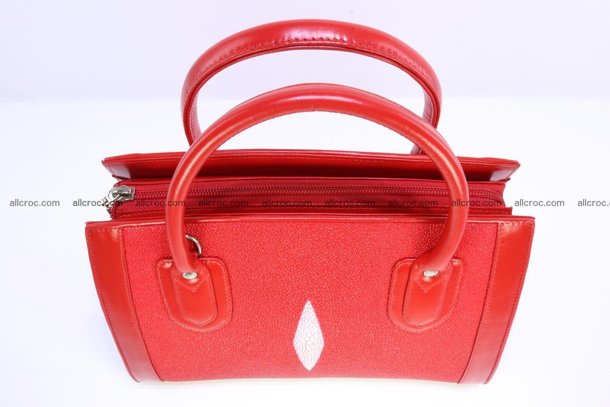 Stingray skin handbag 379 Foto 5