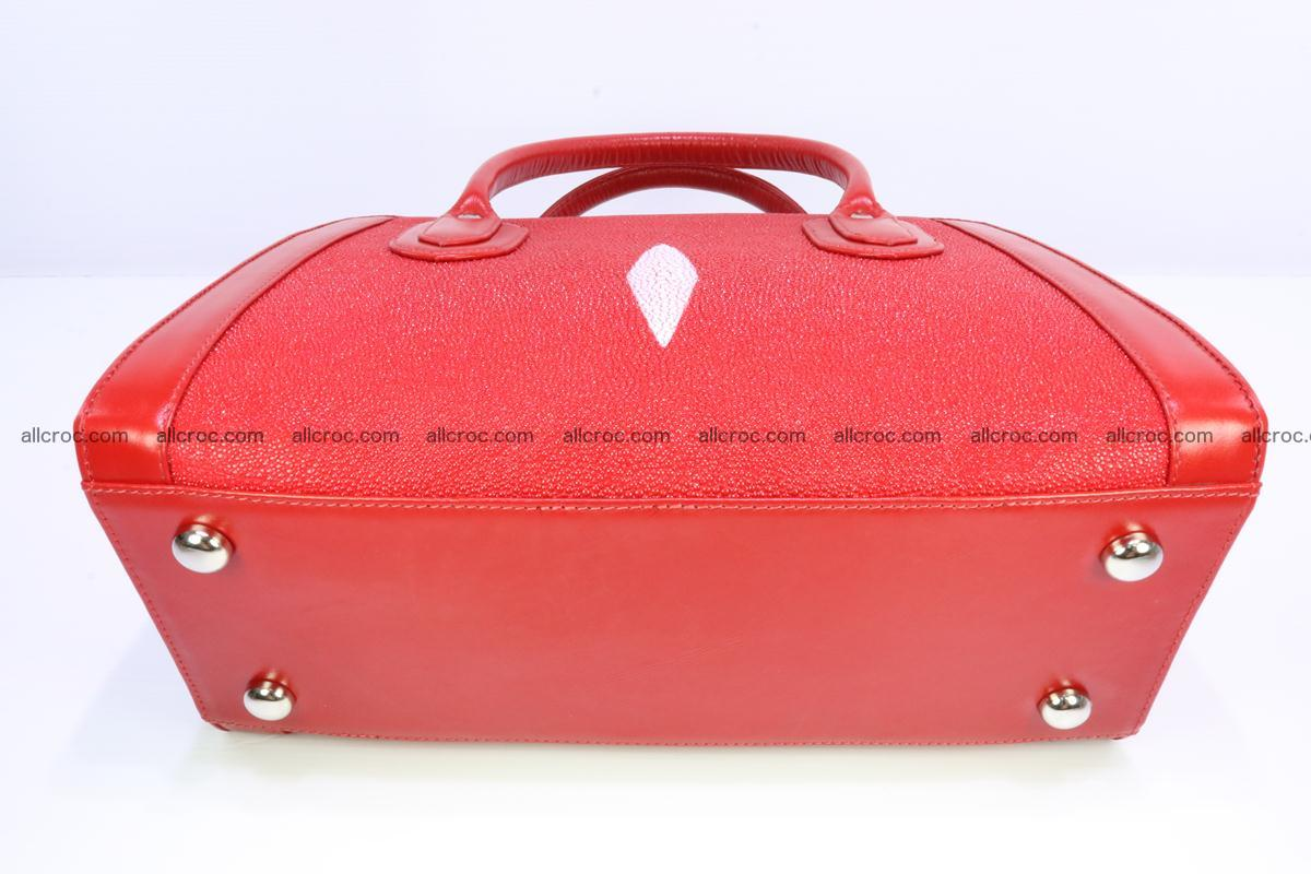 Stingray skin handbag 379 Foto 4