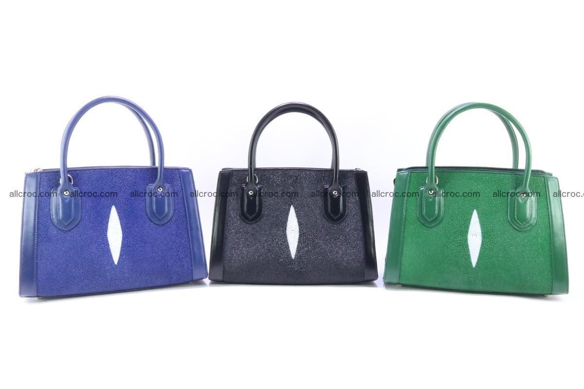 Stingray skin handbag 381 Foto 11
