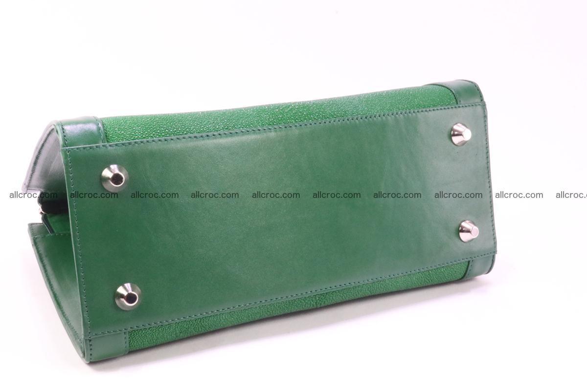 Stingray skin handbag 380 Foto 4
