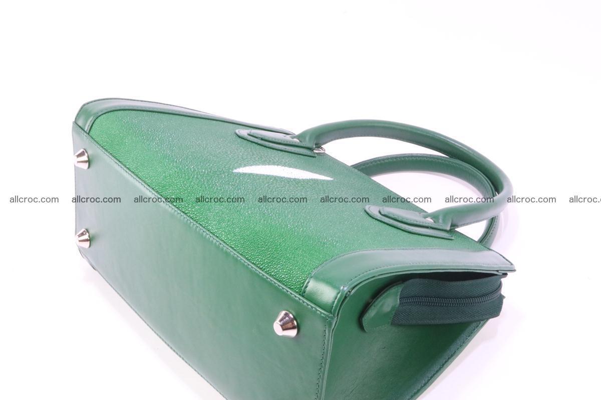 Stingray skin handbag 380 Foto 6