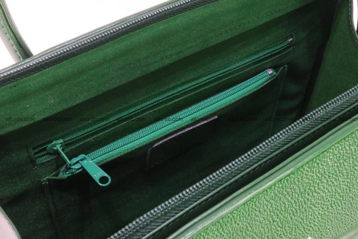 Stingray skin handbag 380 Foto 10