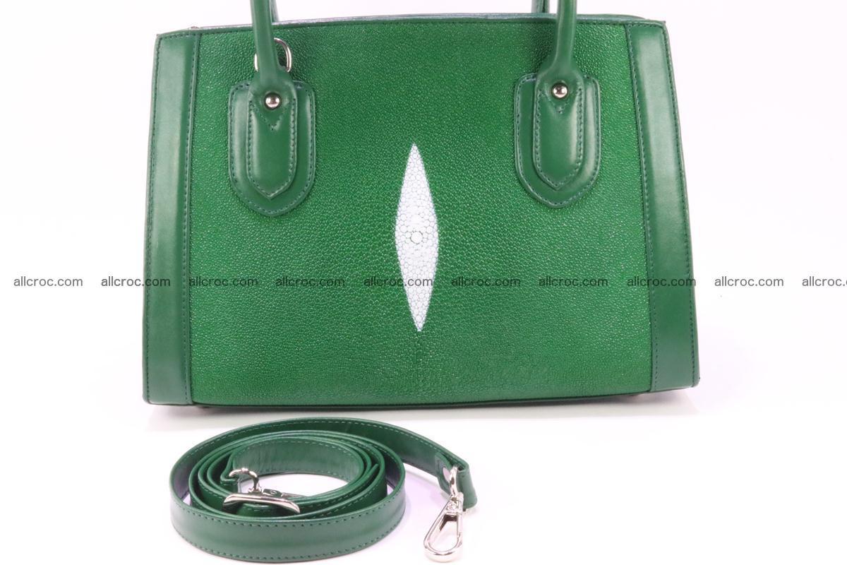 Stingray skin handbag 380 Foto 12