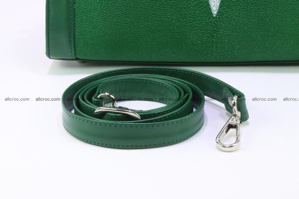 Stingray skin handbag 380 Foto 11