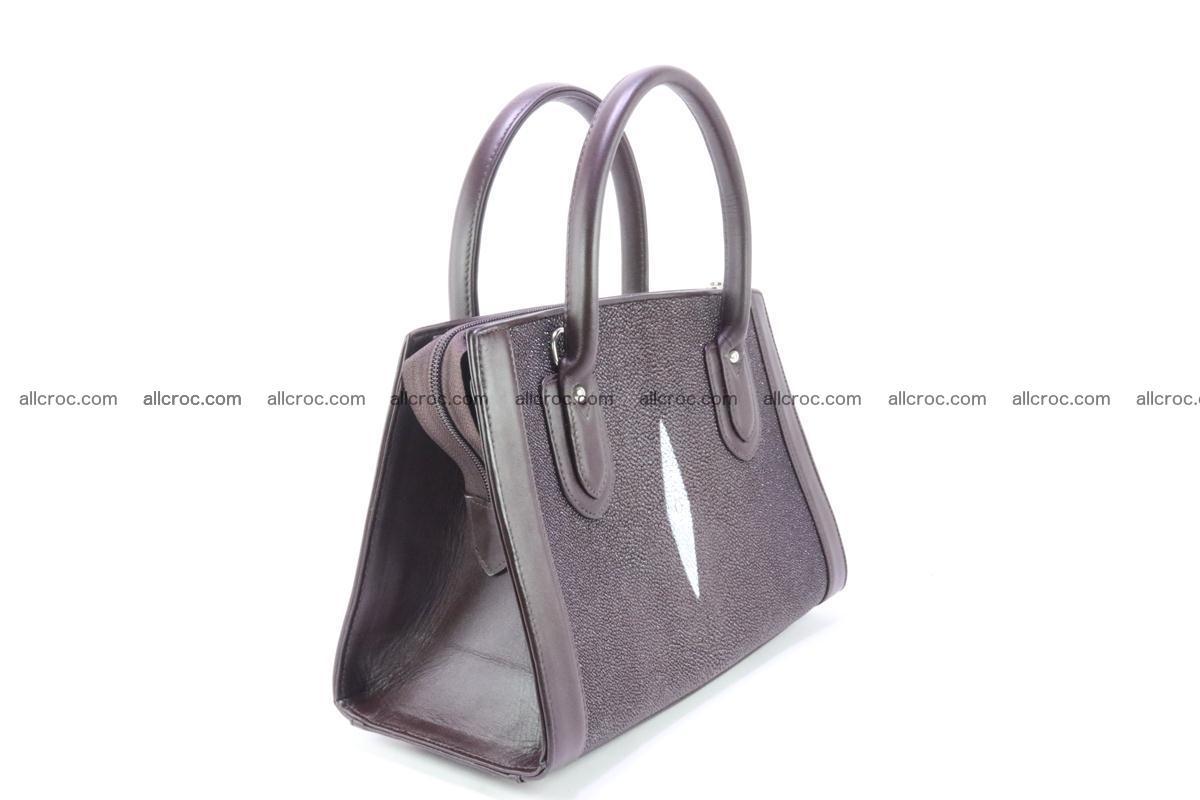 Stingray skin handbag 381 Foto 2