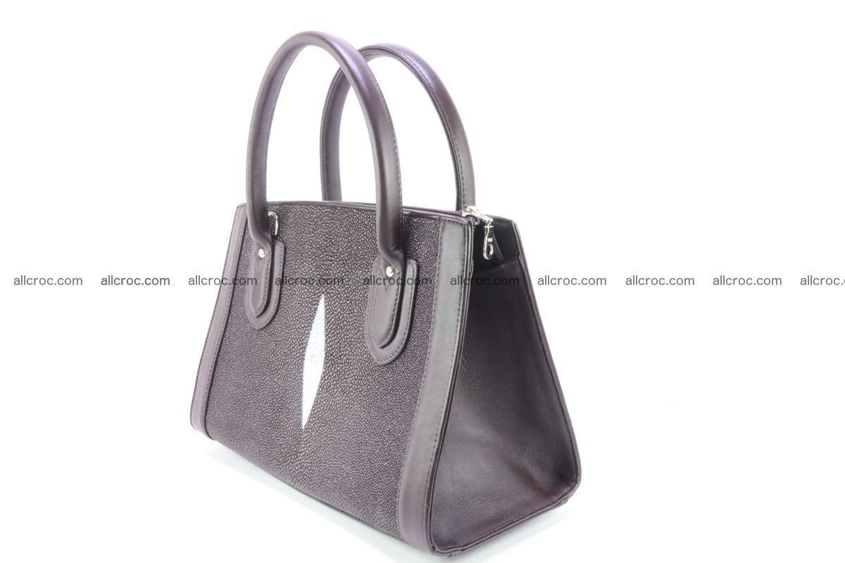 Stingray skin handbag 381 Foto 3