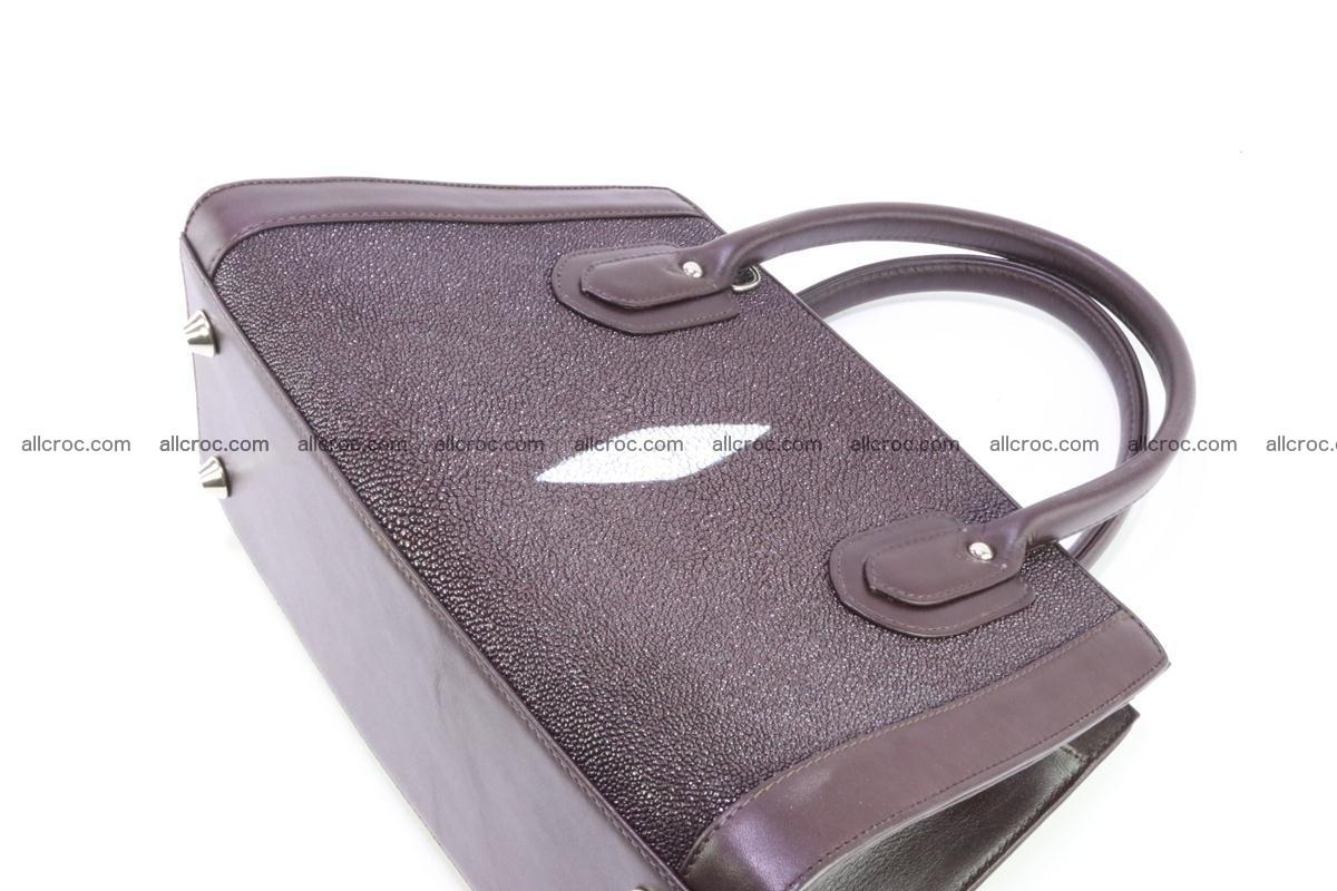 Stingray skin handbag 381 Foto 9