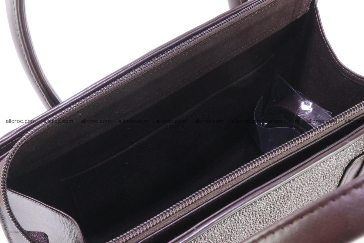 Stingray skin handbag 381 Foto 8