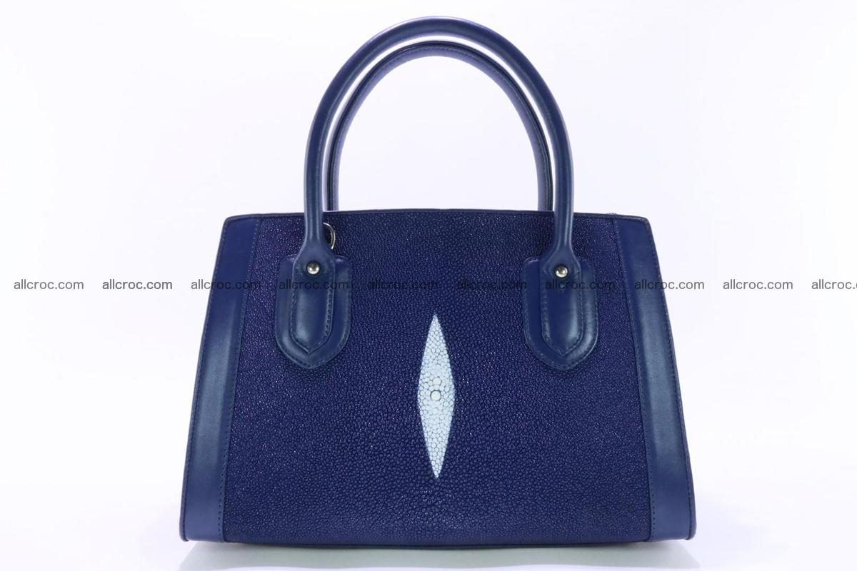 Stingray skin handbag 382 Foto 0