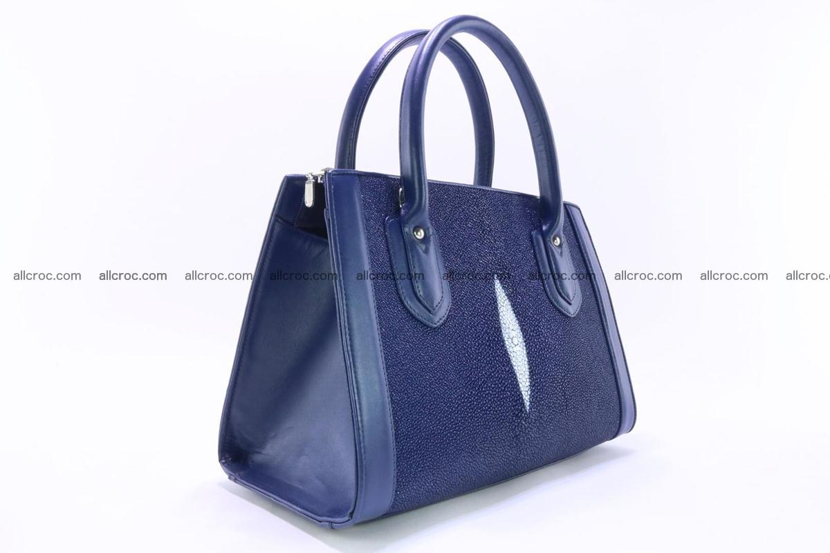 Stingray skin handbag 382 Foto 2
