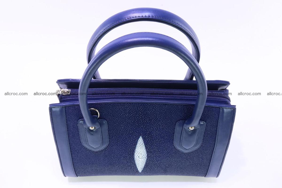 Stingray skin handbag 382 Foto 4