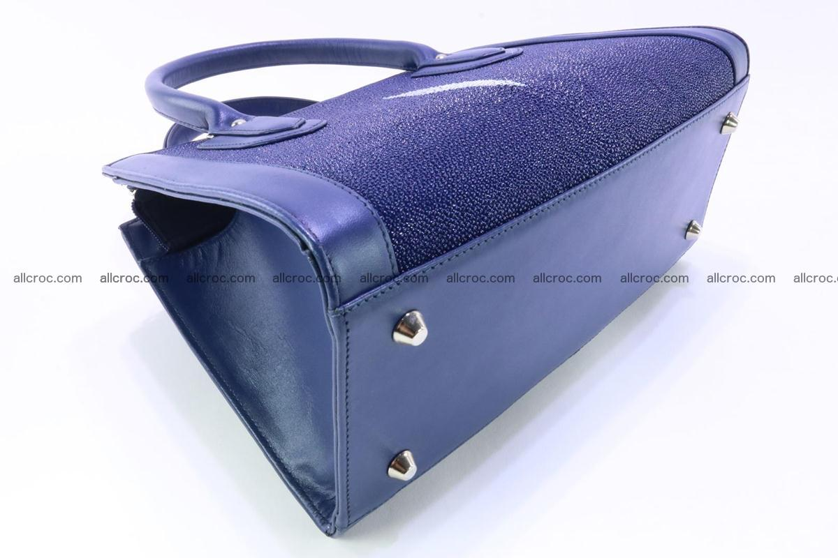 Stingray skin handbag 382 Foto 6