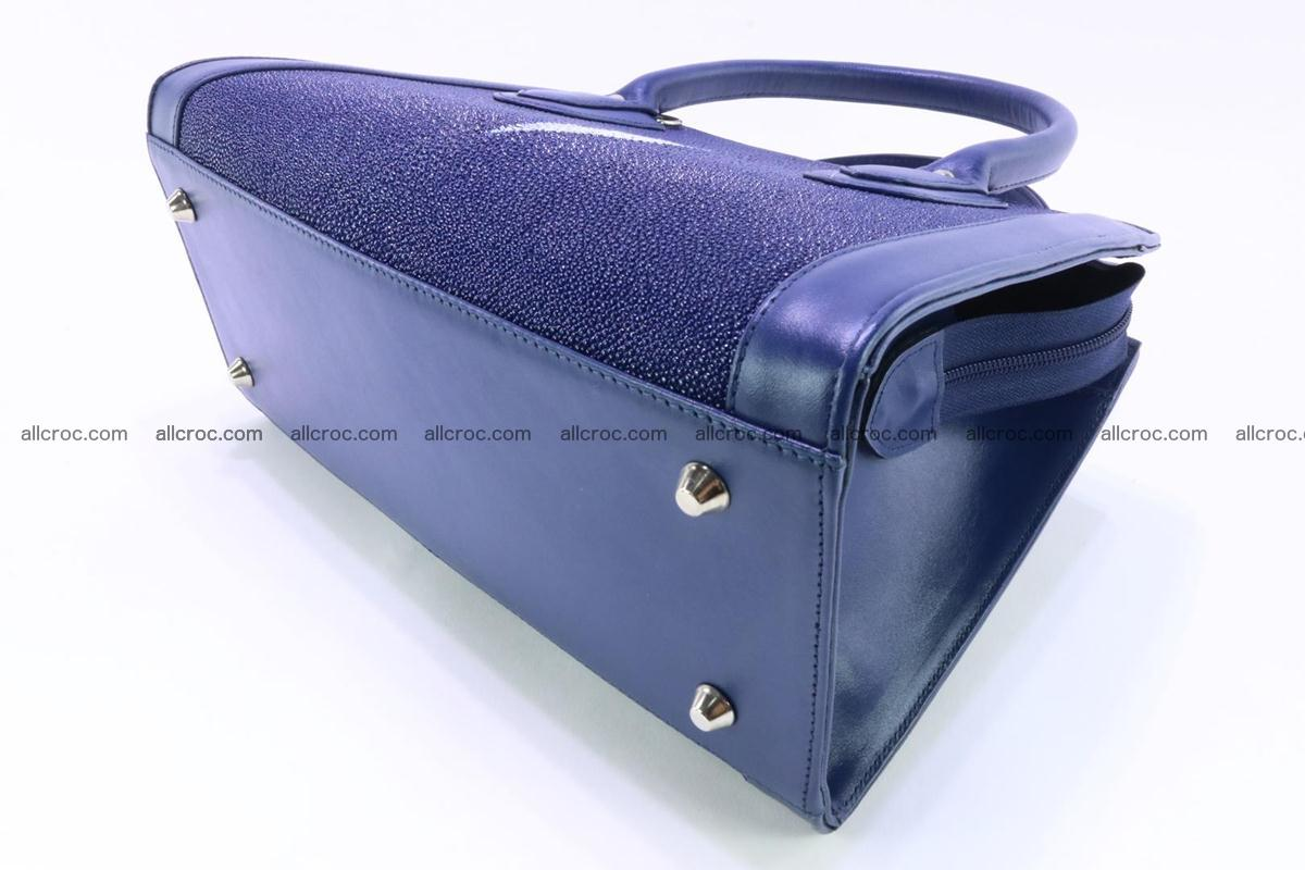 Stingray skin handbag 382 Foto 7