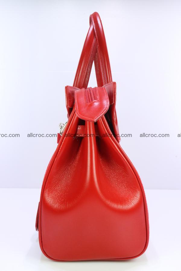 Stingray skin handbag replica of Hermes Birkin 384 Foto 6