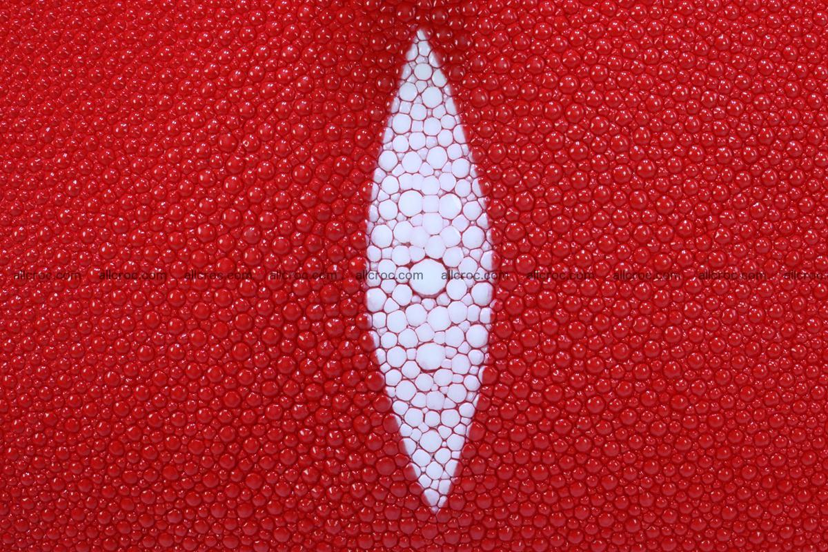 Stingray skin handbag replica of Hermes Birkin 384 Foto 3