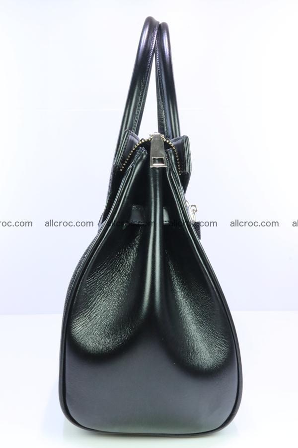 Stingray skin handbag replica of Hermes Birkin 385 Foto 8