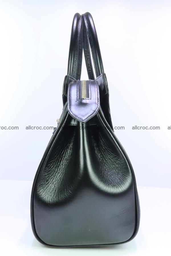 Stingray skin handbag replica of Hermes Birkin 385 Foto 9