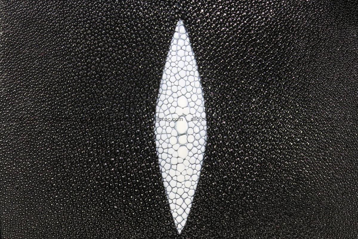 Stingray skin handbag replica of Hermes Birkin 385 Foto 10