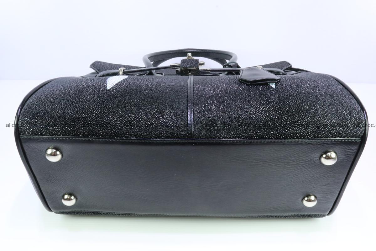 Stingray skin handbag replica of Hermes Birkin 385 Foto 5