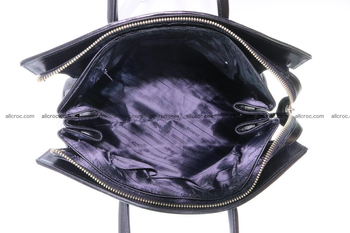Stingray skin handbag replica of Hermes Birkin 385 Foto 11