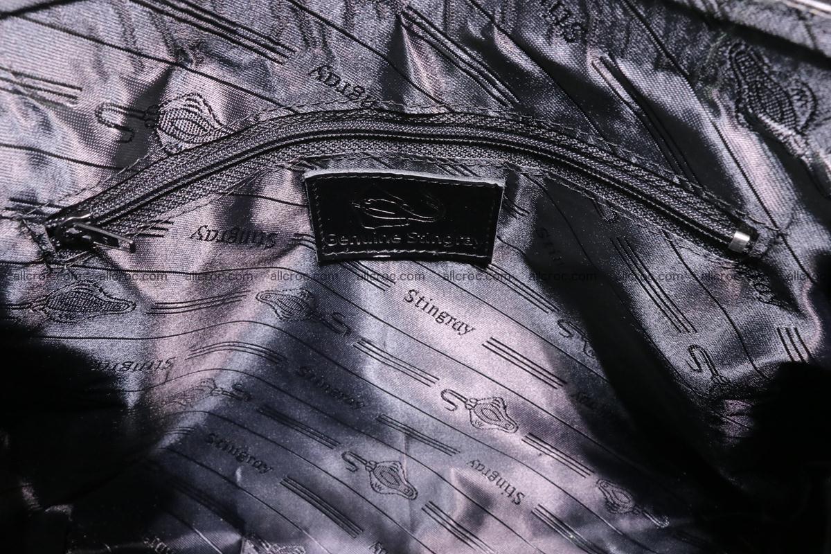 Stingray skin handbag replica of Hermes Birkin 385 Foto 13