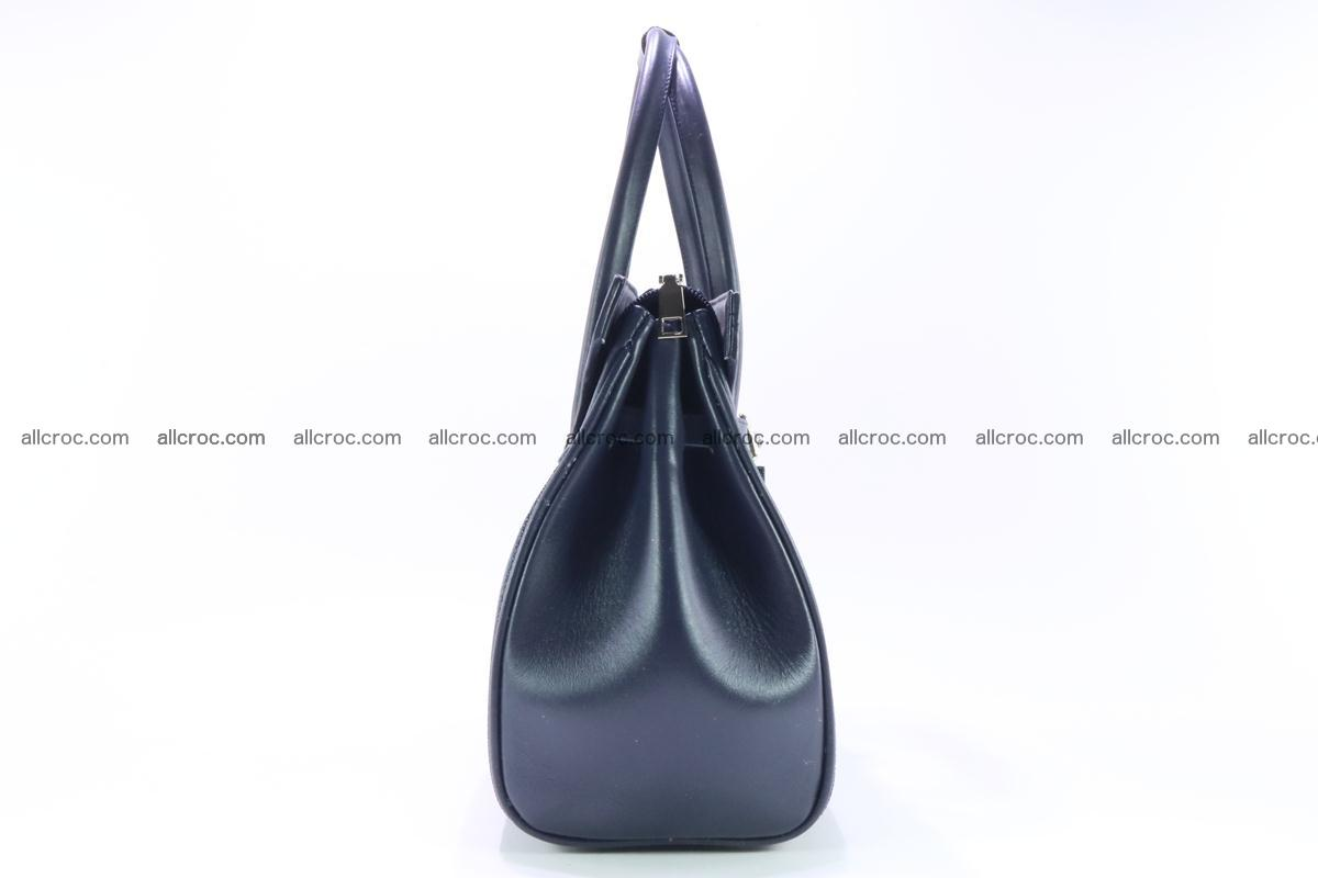 Stingray skin handbag replica of Hermes Birkin 386 Foto 4
