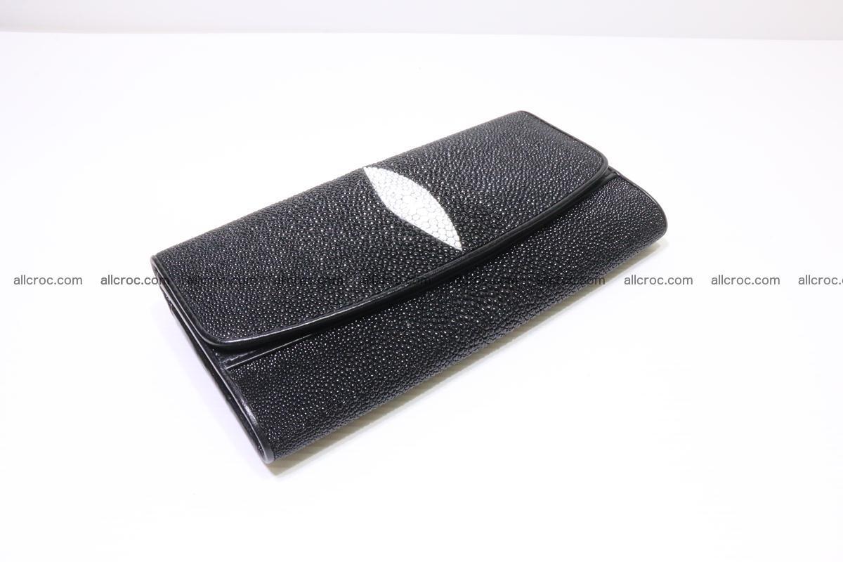 Stingray skin wallet for women 343 Foto 16