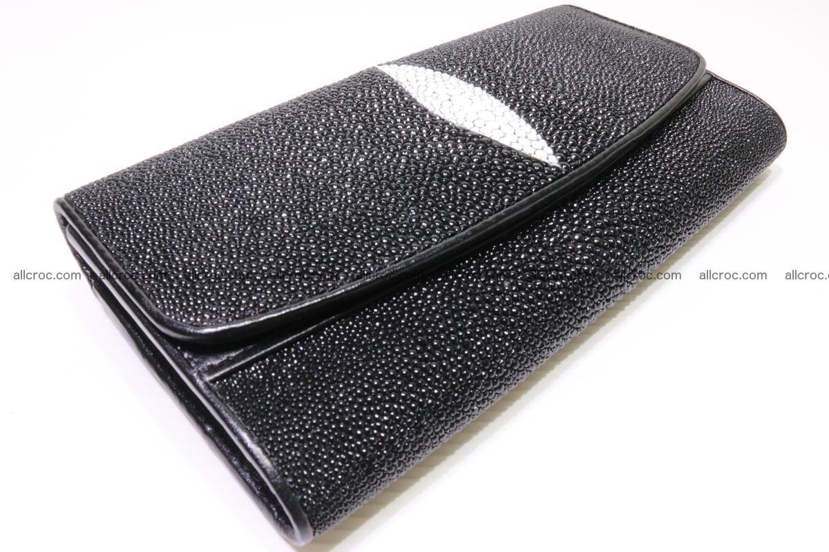 Stingray skin wallet for women 343 Foto 3