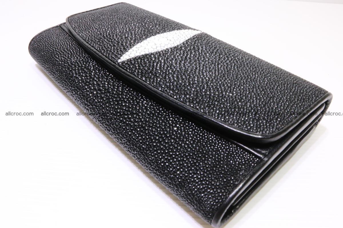 Stingray skin wallet for women 343 Foto 5