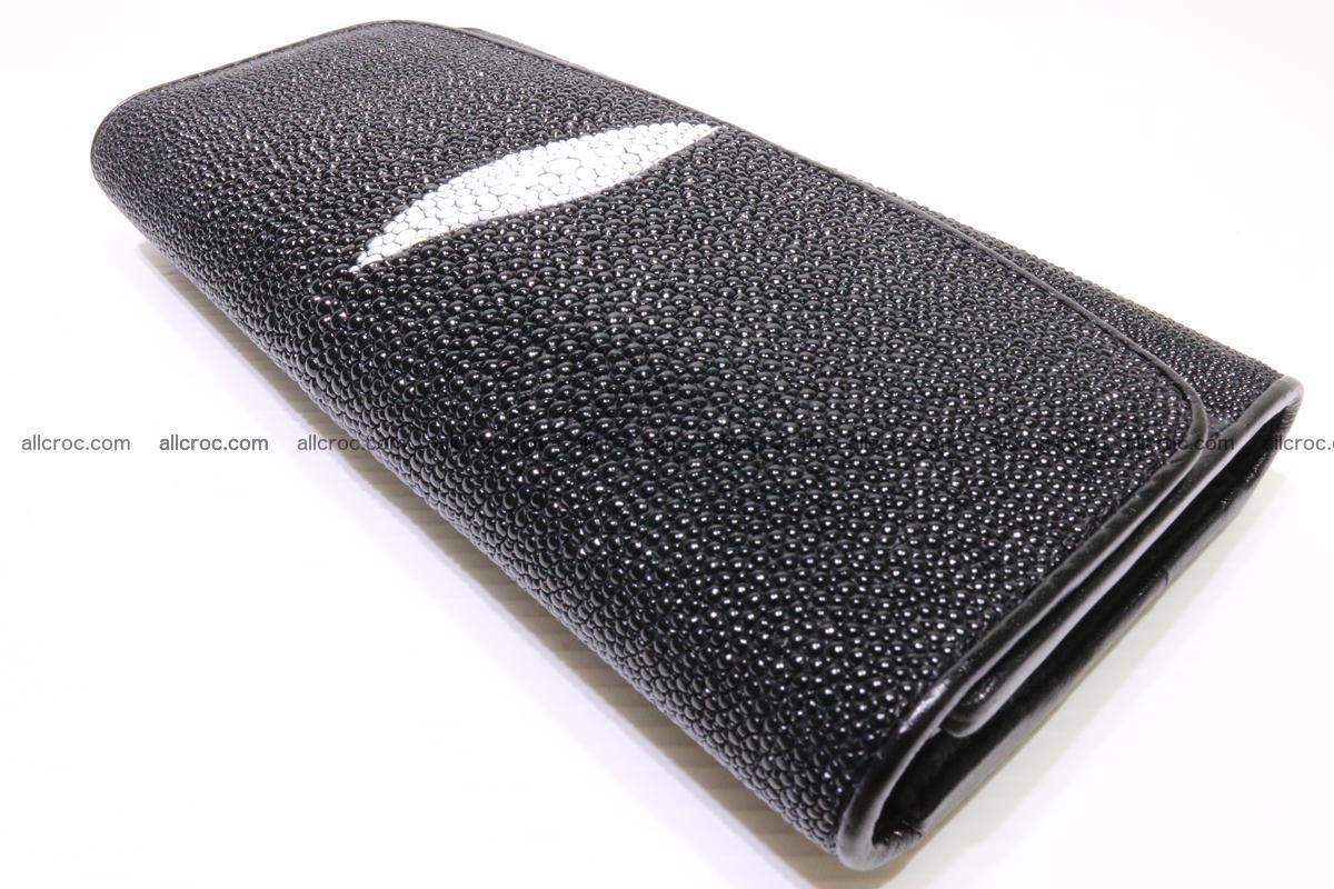 Stingray skin wallet for women 343 Foto 6