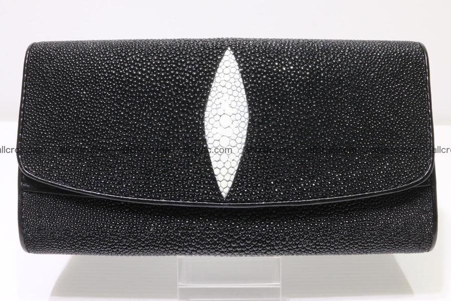 Stingray skin wallet for women 343