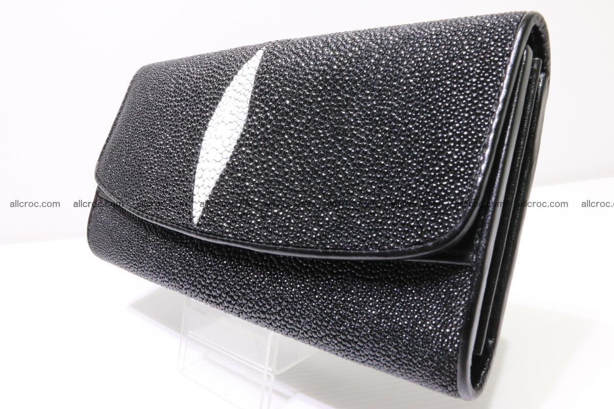 Stingray skin wallet for women 343 Foto 2