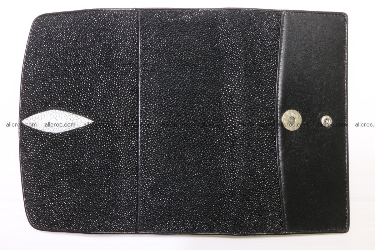 Stingray skin wallet for women 343 Foto 11
