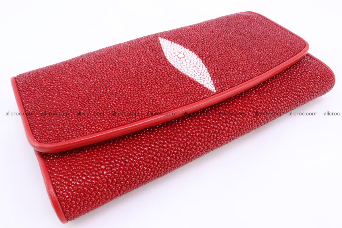 Stingray skin wallet for women 342 Foto 6