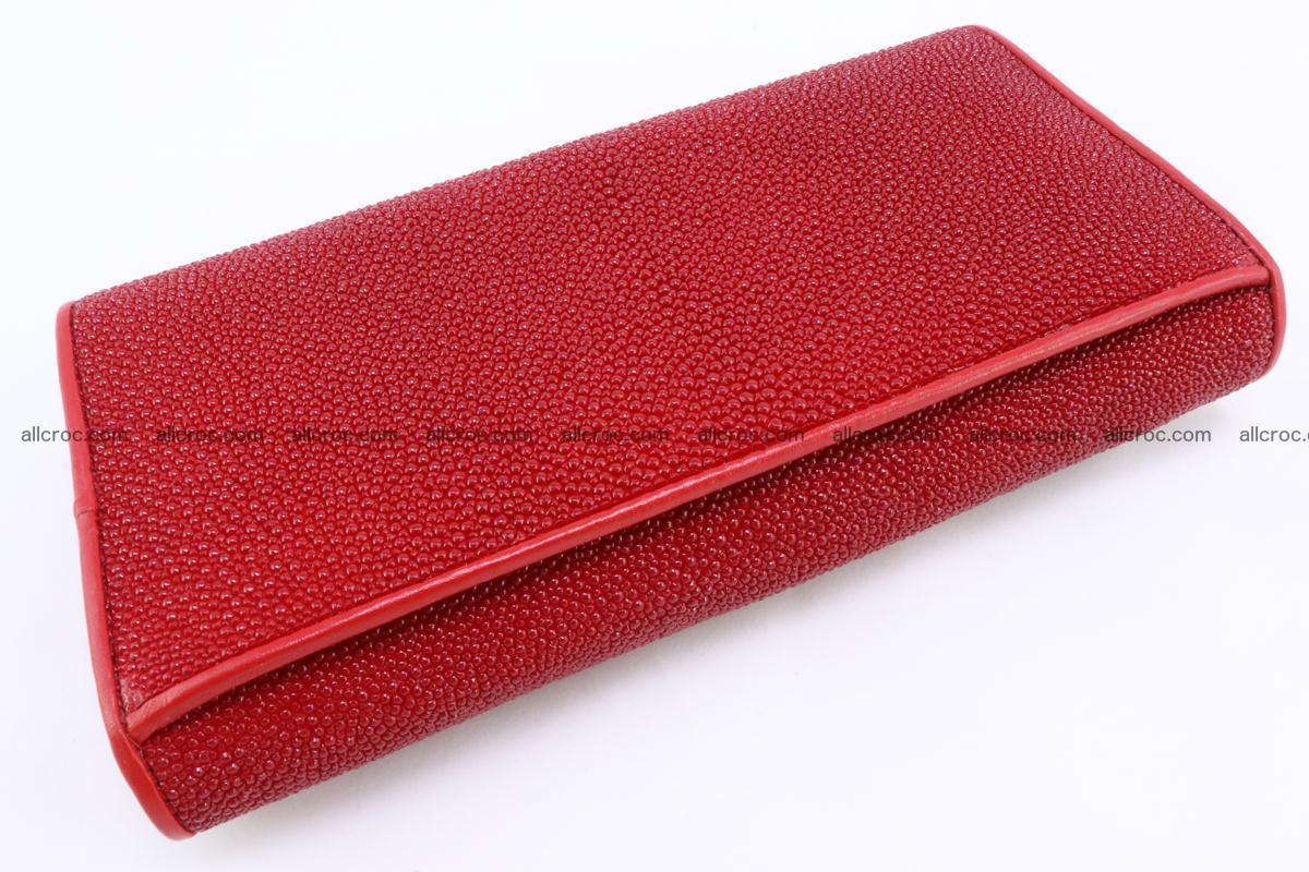 Stingray skin wallet for women 342 Foto 4