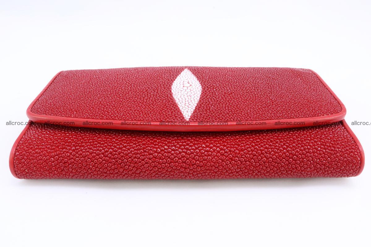 Stingray skin wallet for women 342 Foto 5