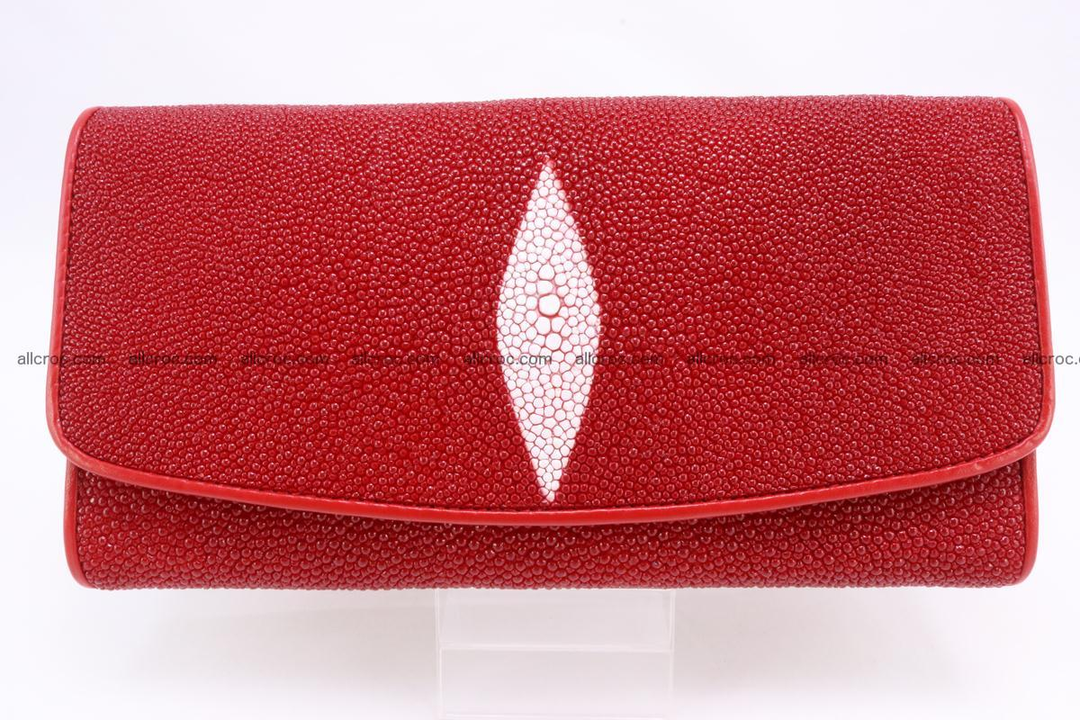 Stingray skin wallet for women 342 Foto 0