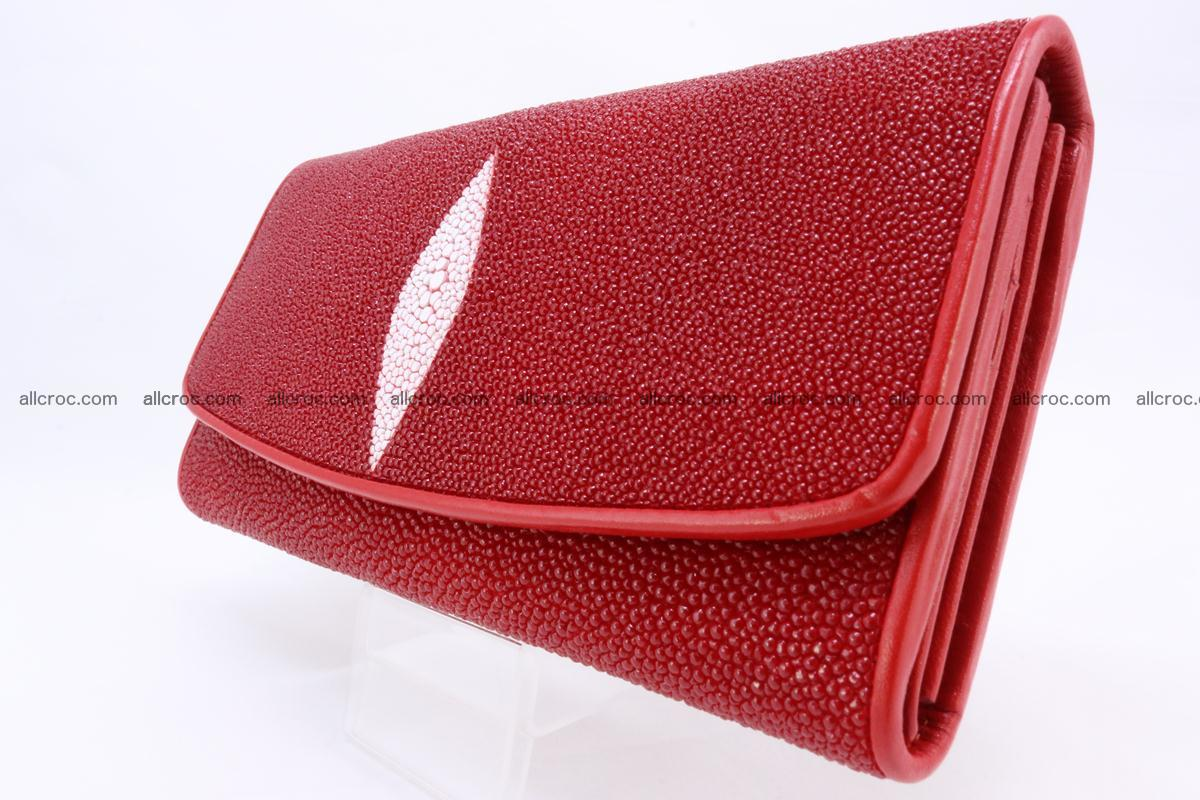 Stingray skin wallet for women 342 Foto 3