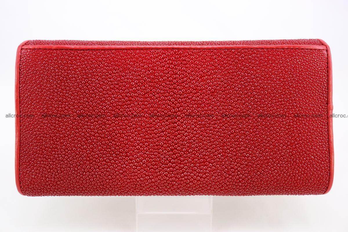 Stingray skin wallet for women 342 Foto 1