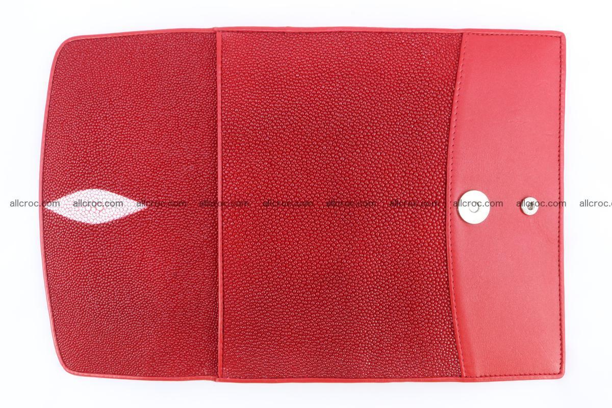 Stingray skin wallet for women 342 Foto 8