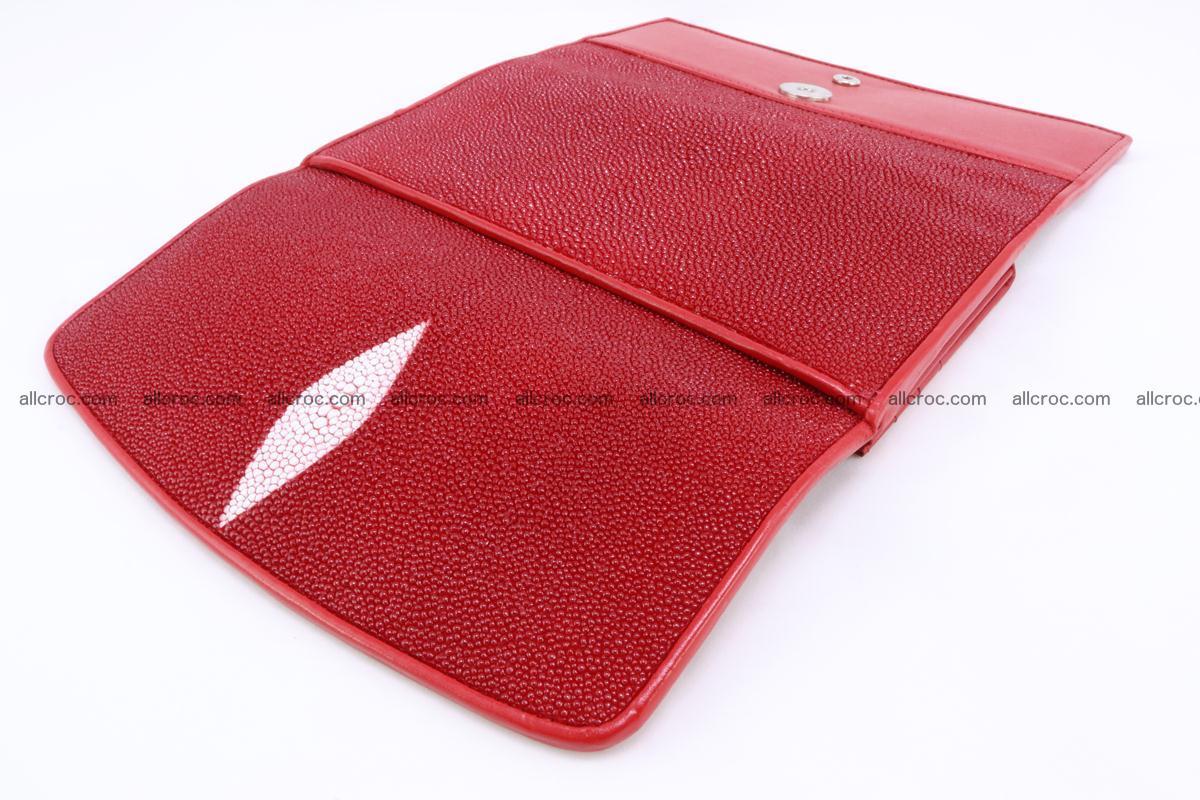 Stingray skin wallet for women 342 Foto 7