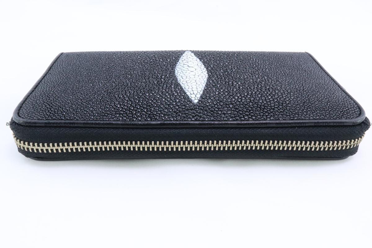Stingray skin wallet with 1 zip 344 Foto 3