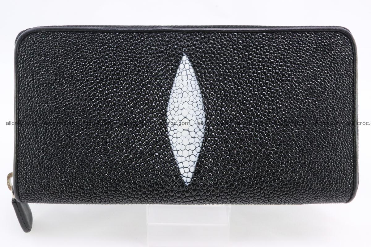 Stingray skin wallet with 1 zip 344 Foto 0