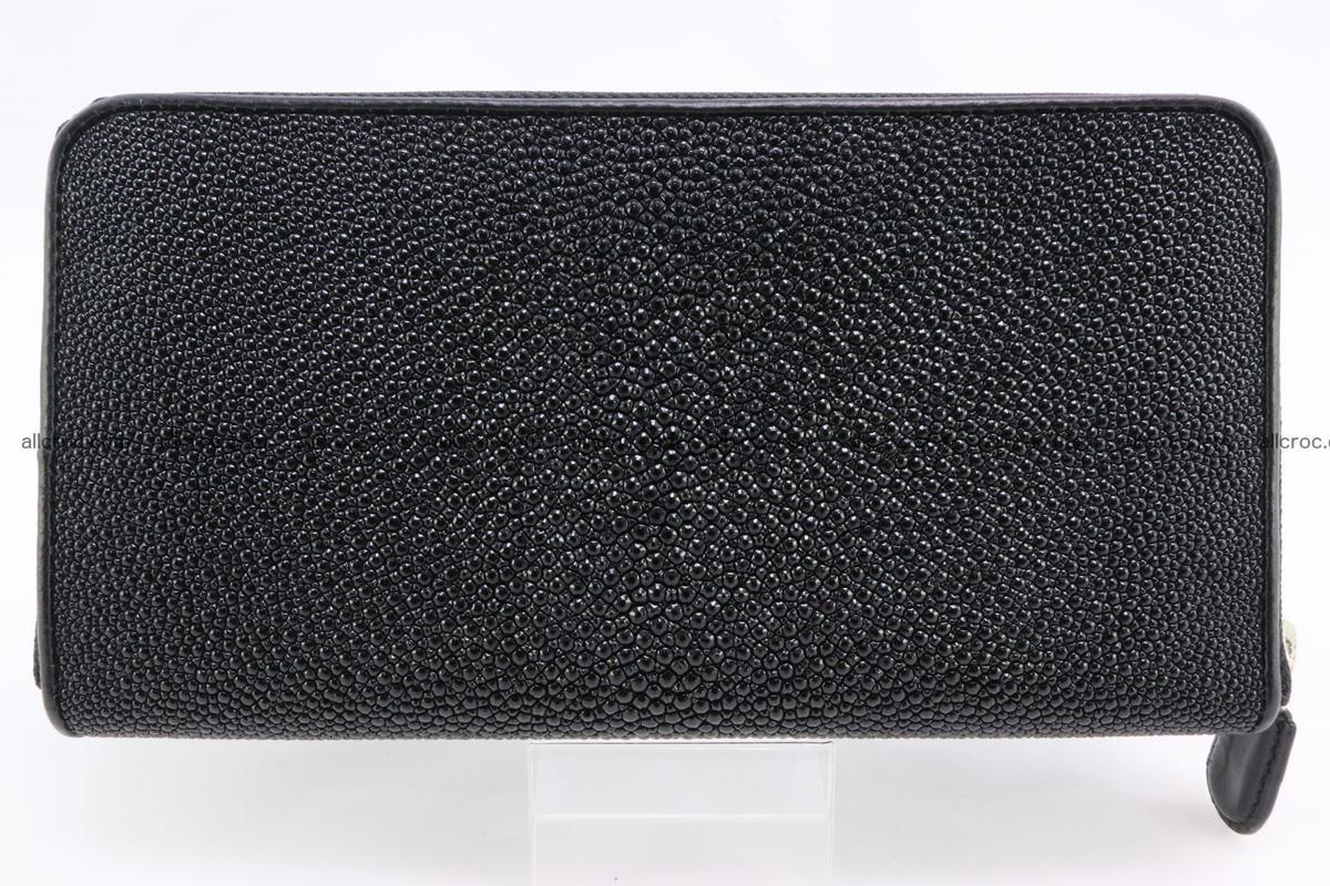 Stingray skin wallet with 1 zip 344 Foto 1