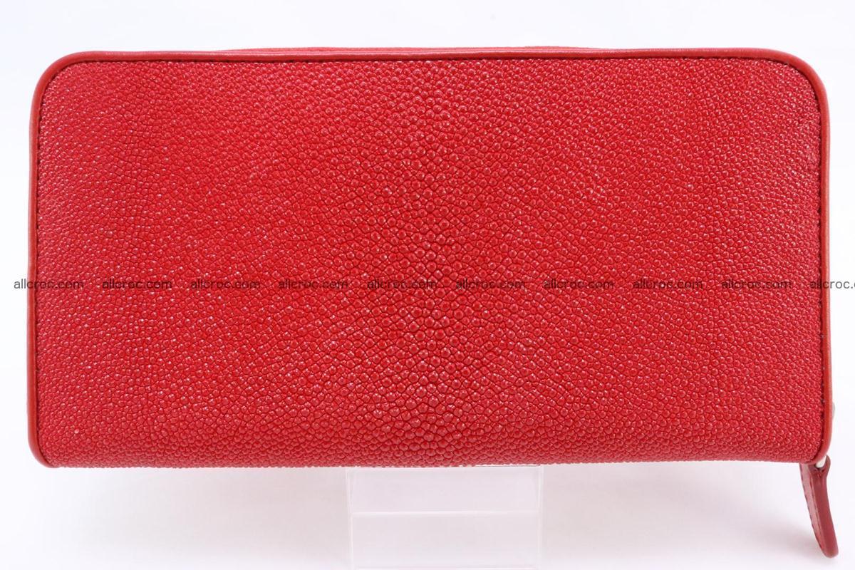 Stingray skin wallet with 1 zip 345 Foto 1