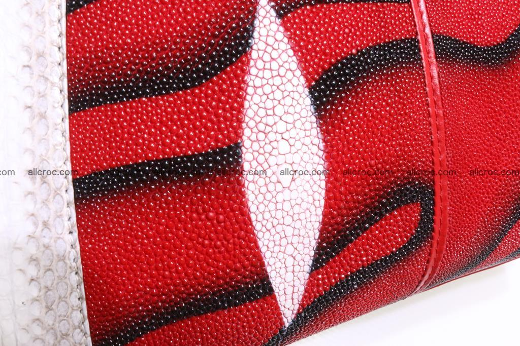 Stingray skin womens handbag 397 Foto 15