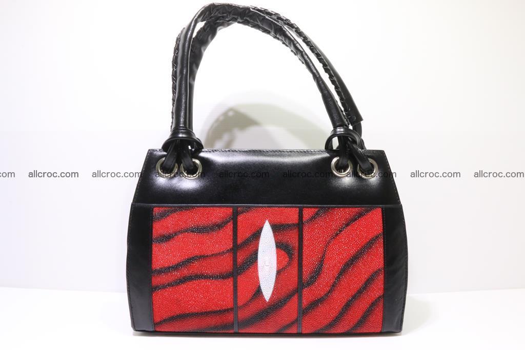 Stingray skin womens handbag 399 Foto 0