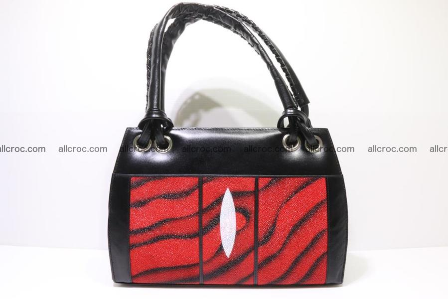 Stingray skin womens handbag 009